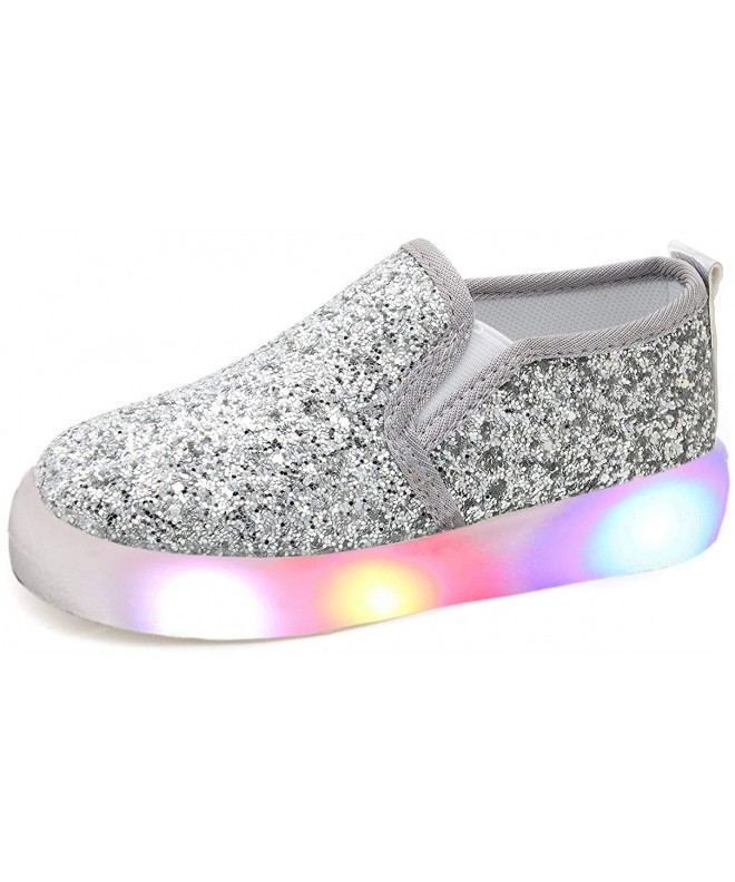 UBELLA Sequins Loafers Flashing Sneakers