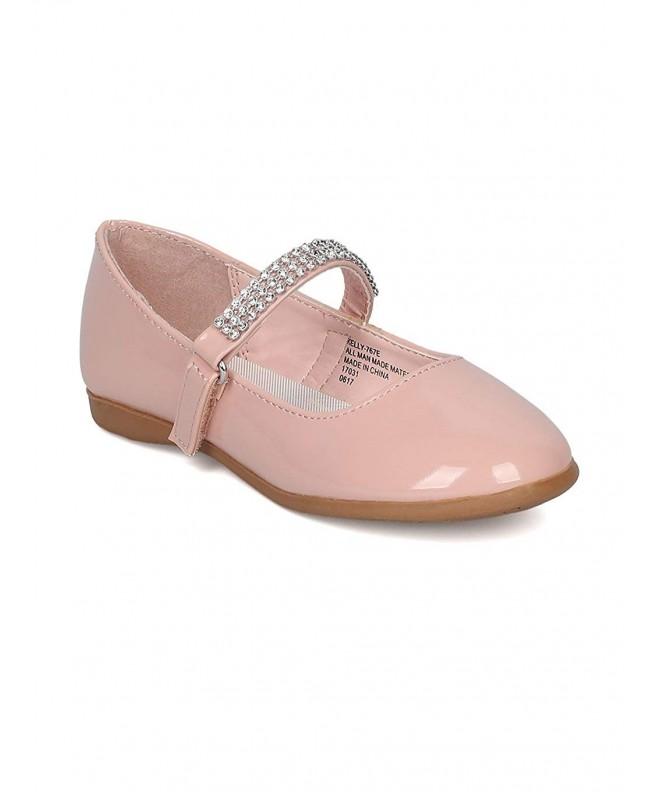 Little Angel Patent Ballerina Blush