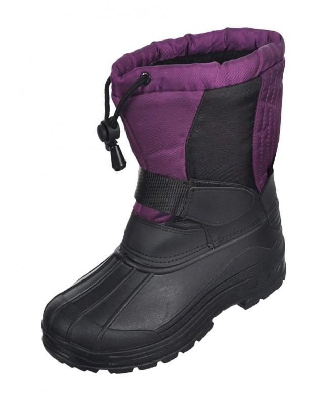 SkaDoo GirlsSnow Goer Boots Purple