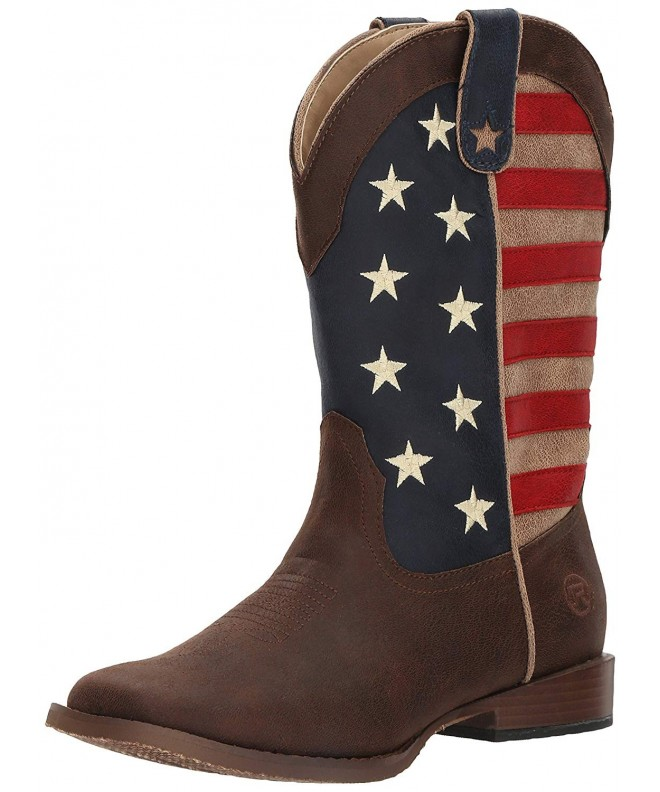 Roper Boys American Patriot Brown