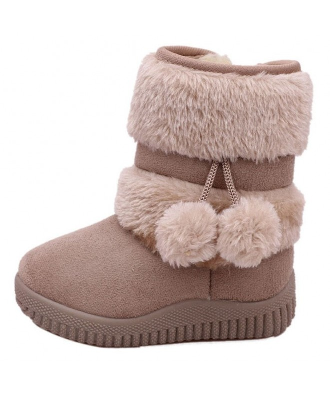 Toddler Girls Winter Shoes Booties