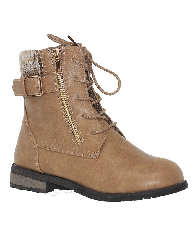 MVE Shoes Girls Military Combat