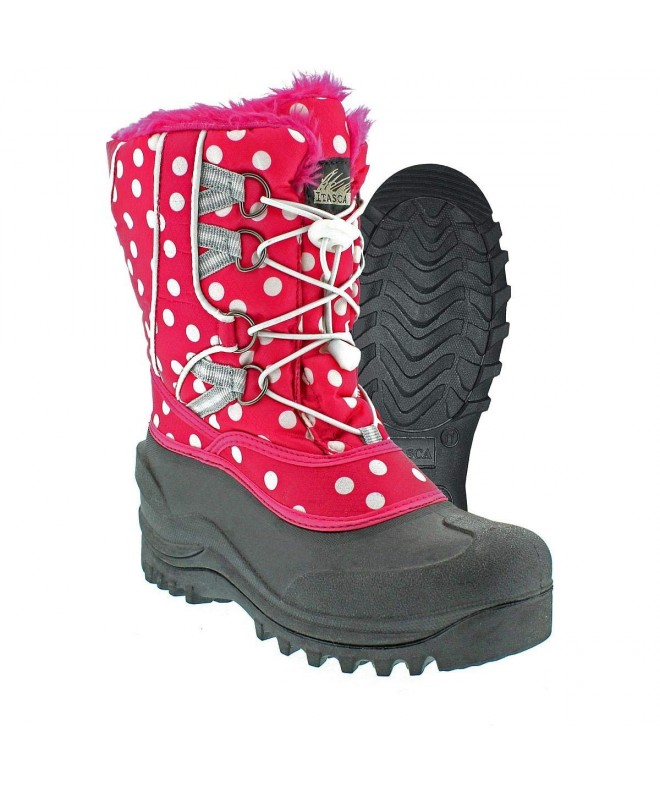 Itasca Girls SNOWKICKER Polka Boots