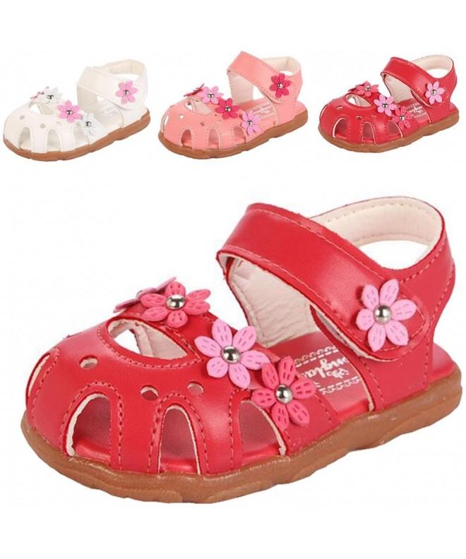 DADAWEN Closed Toe Outdoor Sandals Toddler