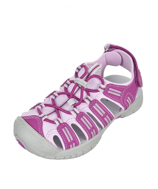 Khombu Purple Closed Athletic Sandal
