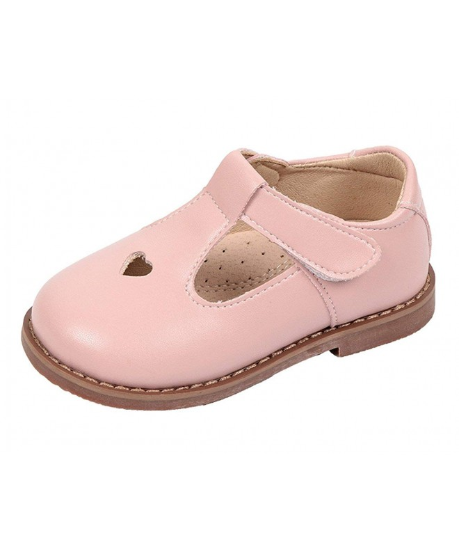 WUIWUIYU Oxfords T Strap Walking Princess