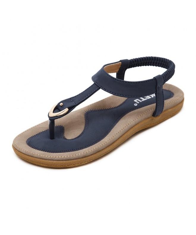 DolphinBanana Bohemian Glitter Summer Sandals