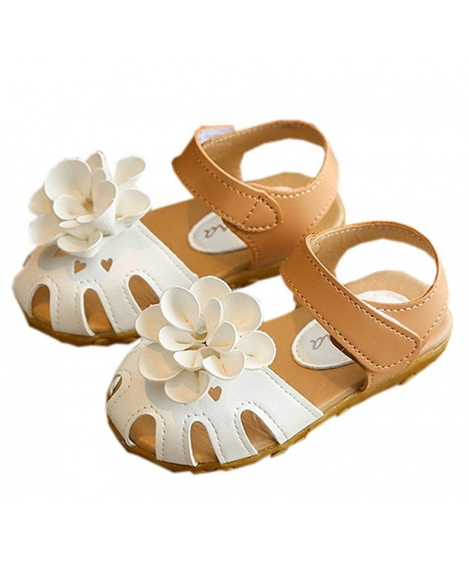 Vokamara Toddler Closed Flower Sandals