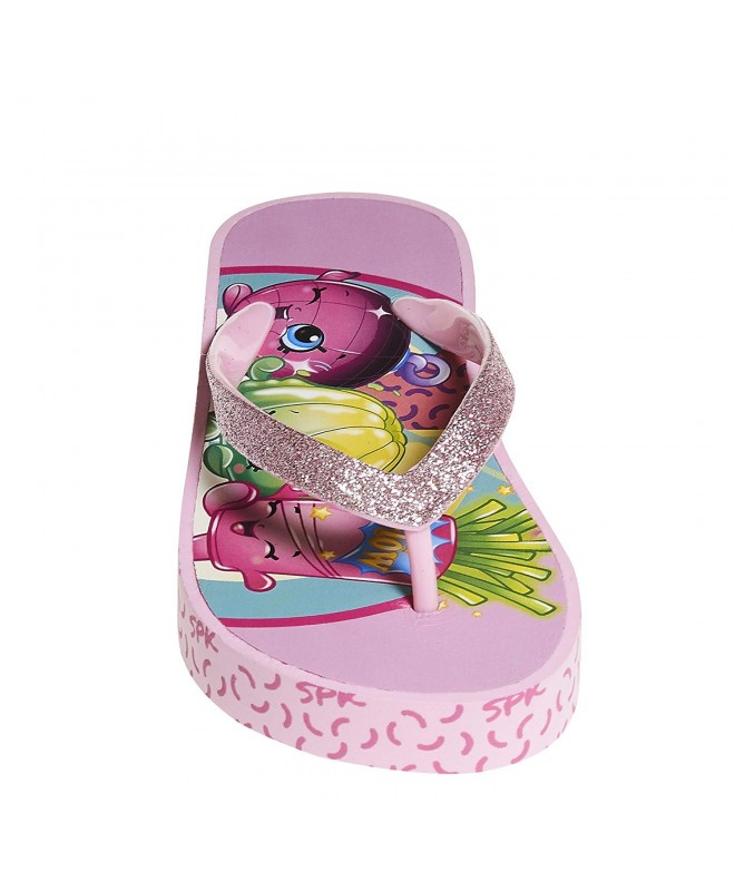 Shopkins Girls Wedge Sandals Sidewall