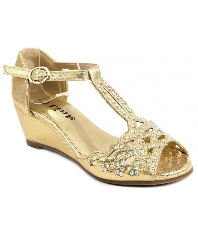 Blaze04 Rhinestone Ankle Sandal Shoes