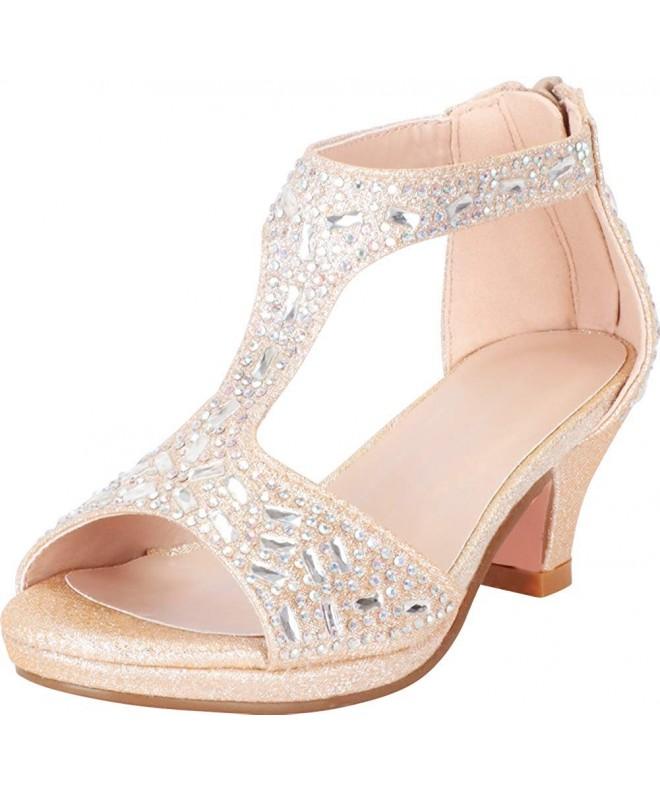 Cambridge Select T Strap Glitter Rhinestone