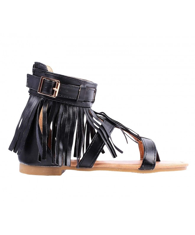 weyoh Buckle Gladiators Sandals Without