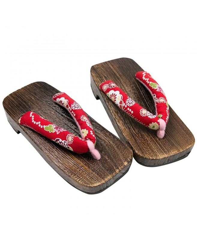 KYOETSU Girls Japanese Wooden Sandals