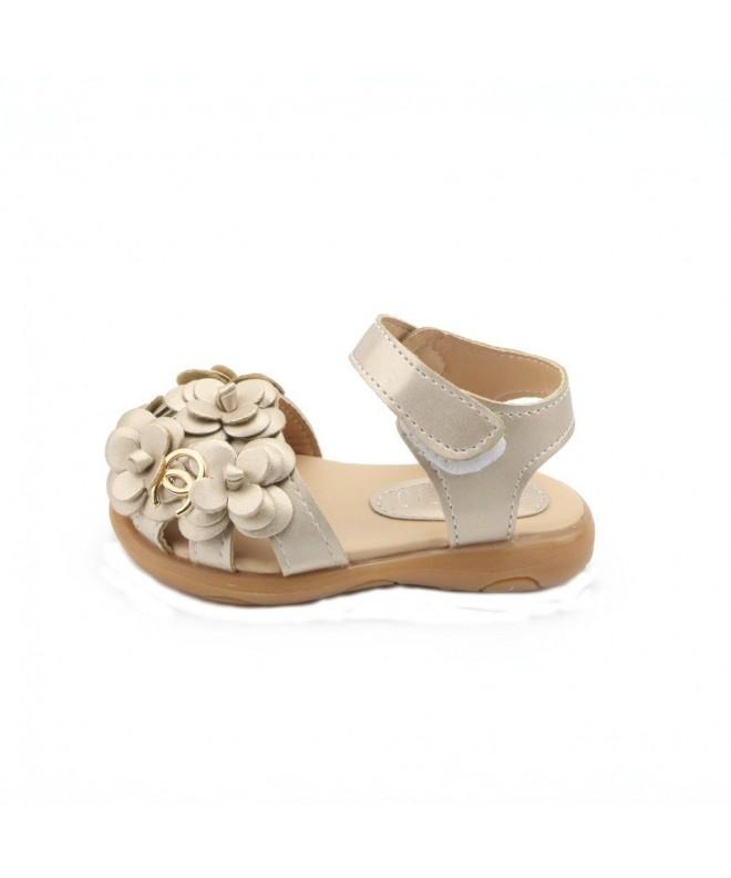 JUSTSL Childrens Sandals Flowers Size21 30