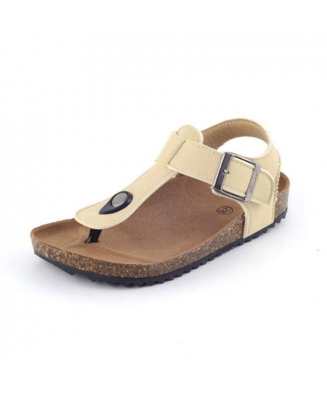 VLLY Adjustable Slingback Footbed Sandals