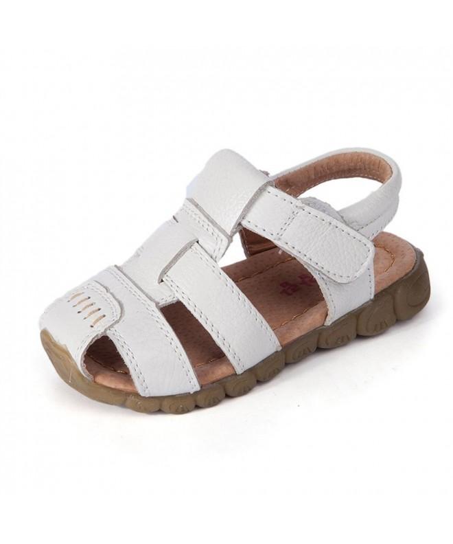 JUSTSL Children Genuine Leather Sandals