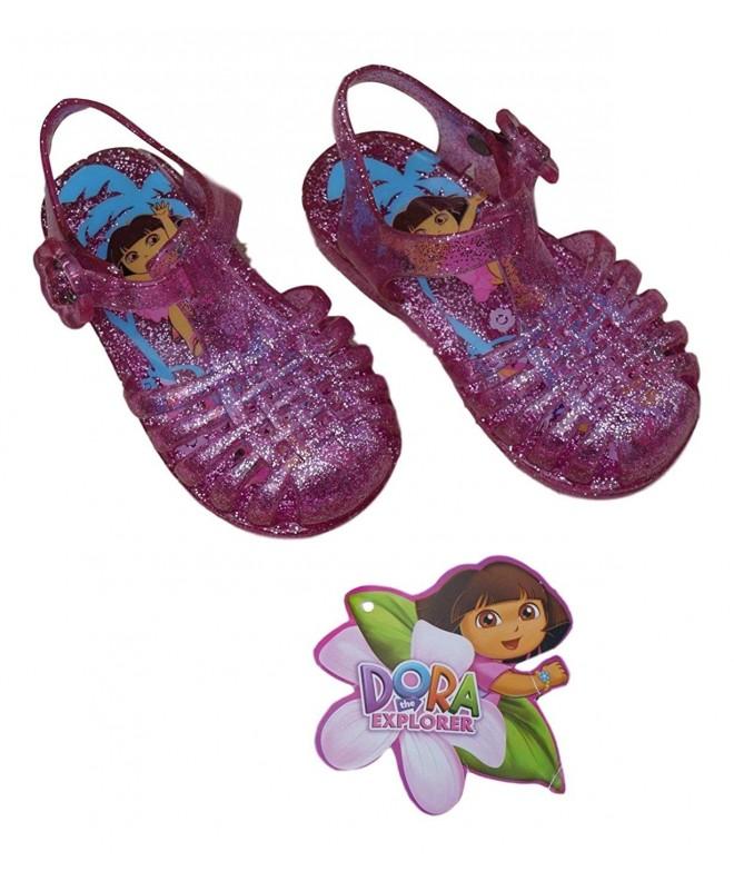 Little Girls Dora Sandals Pink
