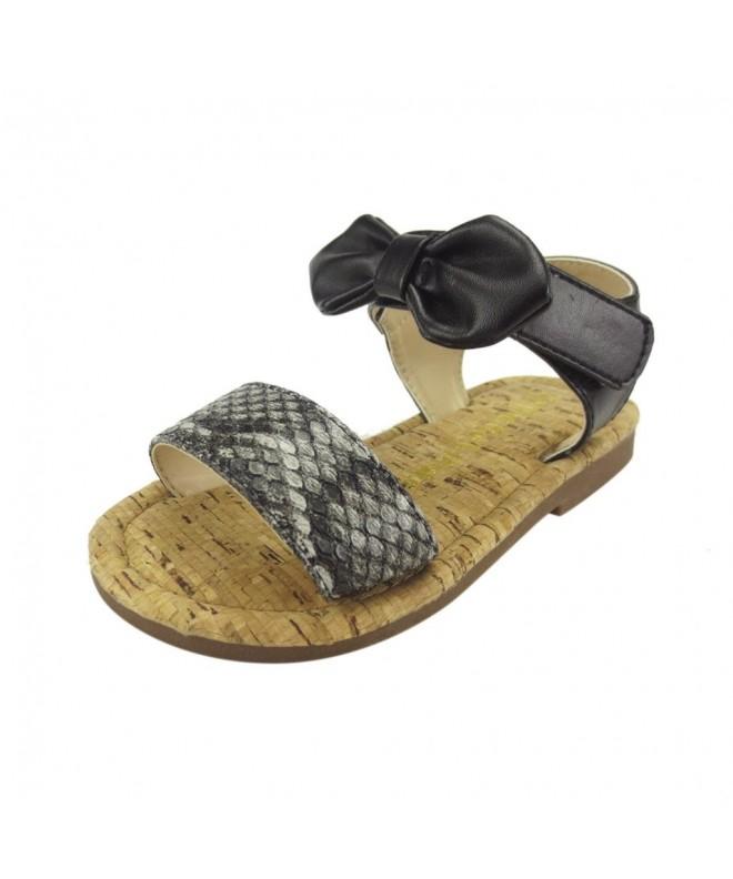 Doll Maker Snakeskin Ankle Sandal