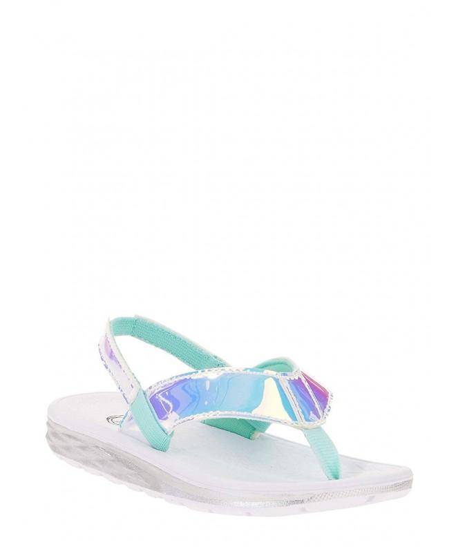 Wondernatin Little Girls Sandals Iridescent