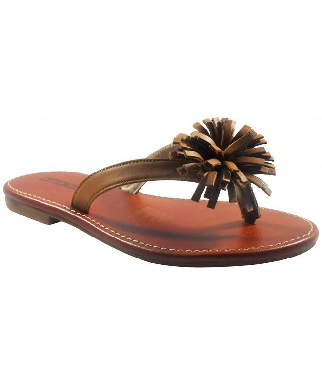 Bobblekids Girls Caramel Sandal Leather