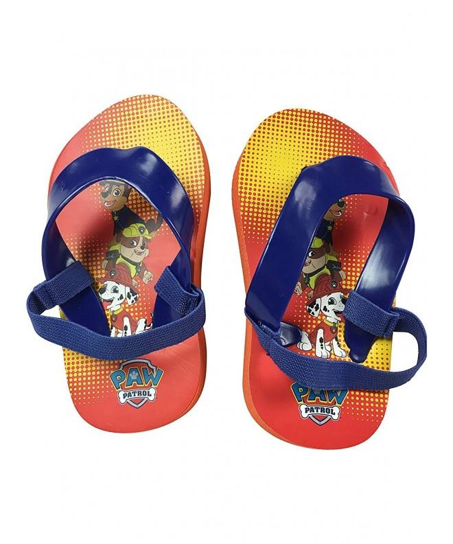Patrol Small Orange Flip Sandals