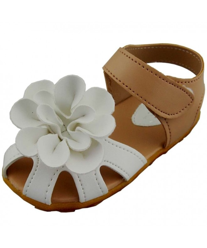 WUIWUIYU Leather Sandals Closed Toe Outdoor