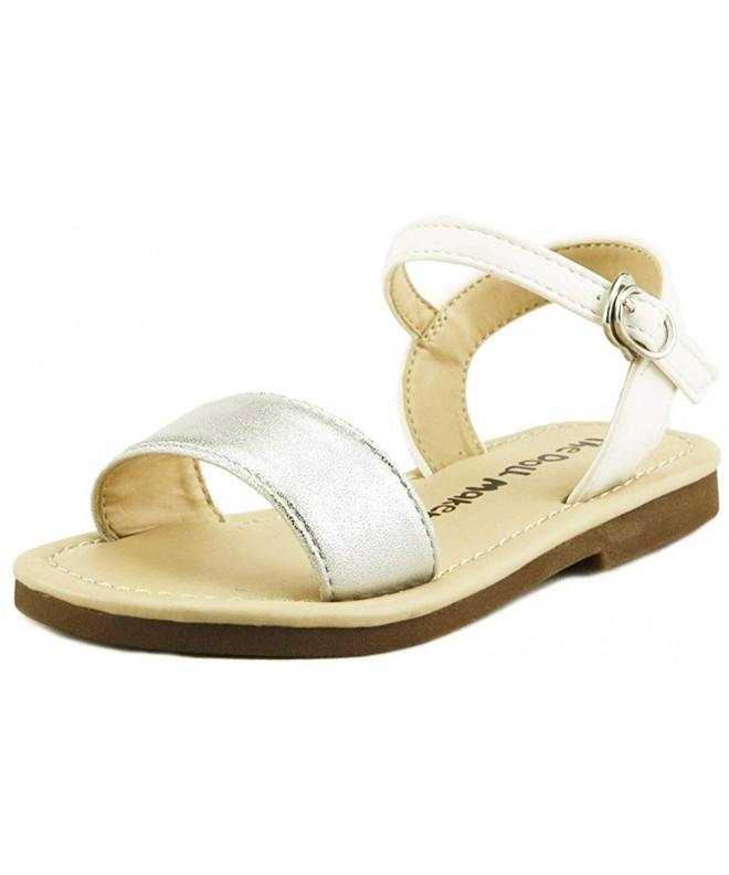 Doll Maker Open Flat Sandal