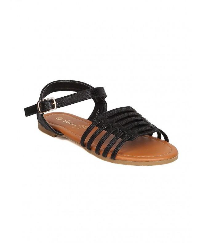 Betani Girls Leatherette Caged Sandal