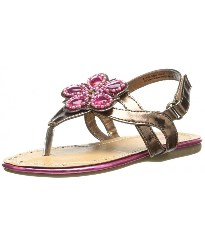 Josmo Girls Flowers Sandal Toddler