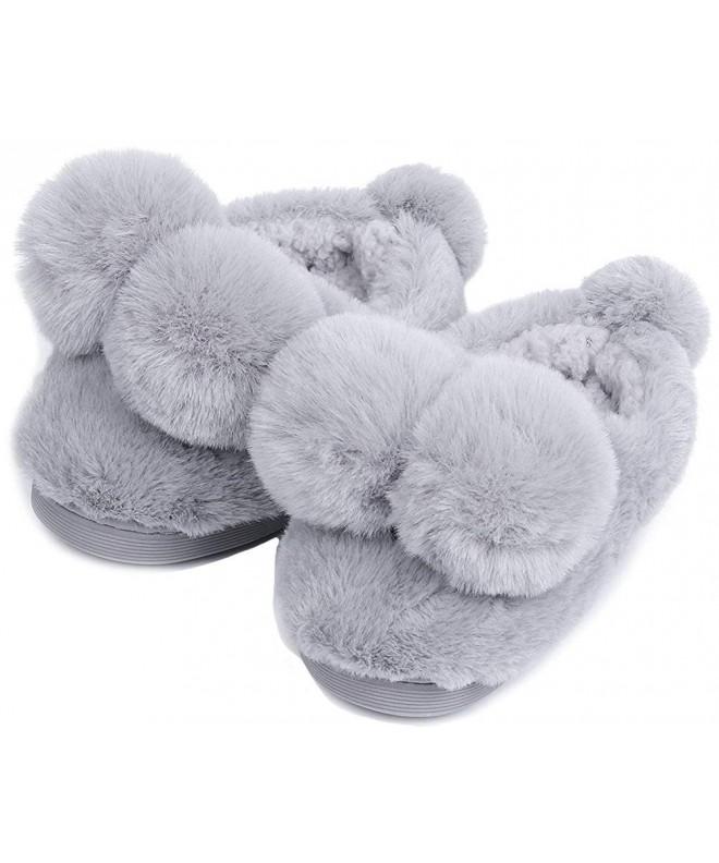 UIESUN Unisex Toddler Slippers Bedroom