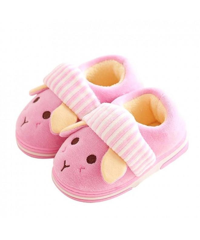 Q Plus Memory Slippers Fluffy Toddler