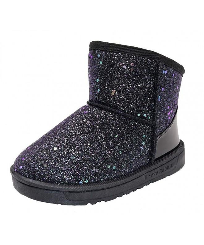 Elcssuy Waterpoof Outdoor Glitter Slippers