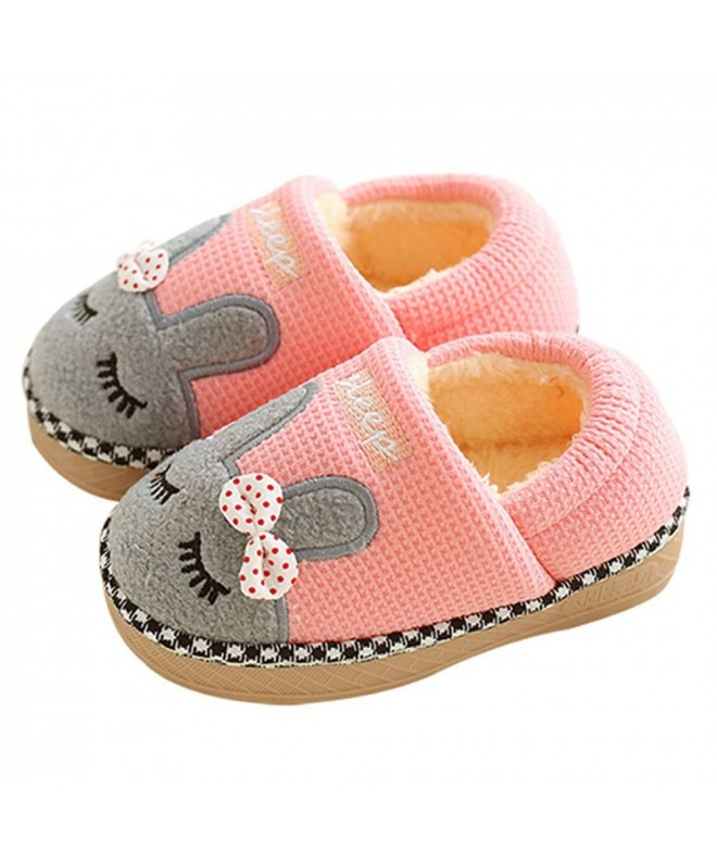 Girls Slippers Indoor Winter Fluffy