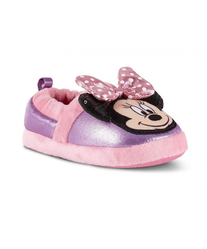 Disney Toddler Minnie Purple Slipper