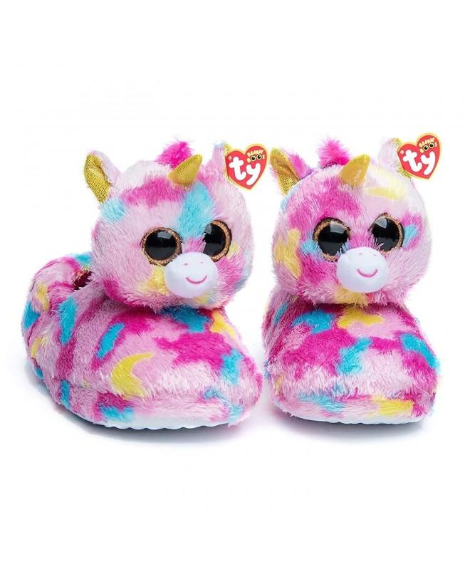 TY Beanie Fantasia Unicorn Slippers