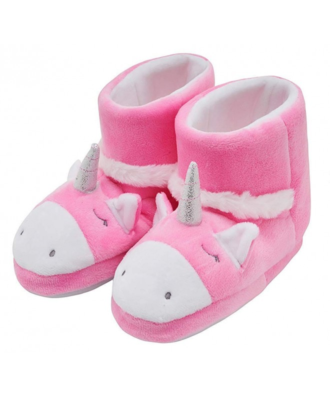Cartoon Unicorn Booties Slippers Toddler