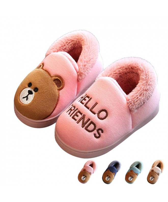 Winter Slippers Booties Anti Skid Toddler