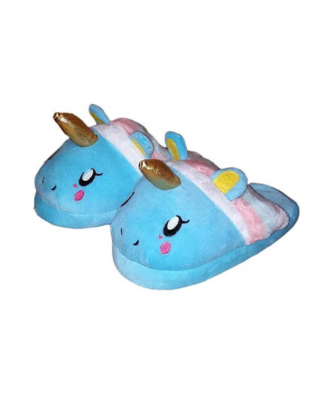 Children Girls Unicorn Plush Slipper