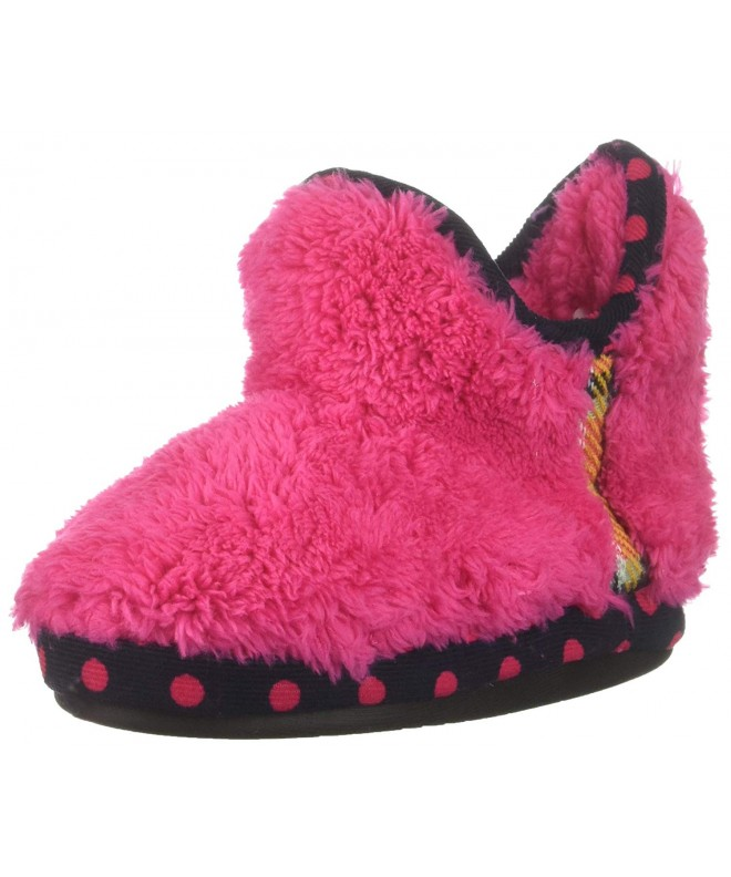Dearfoams Bootie Mixed Material Slipper