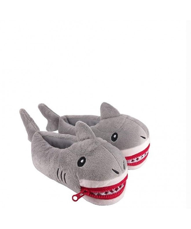 Shark Slippers Animal Plush Slipper