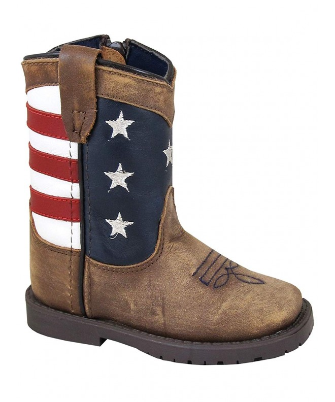 Smoky Toddlers Stripes Patriotic Boots