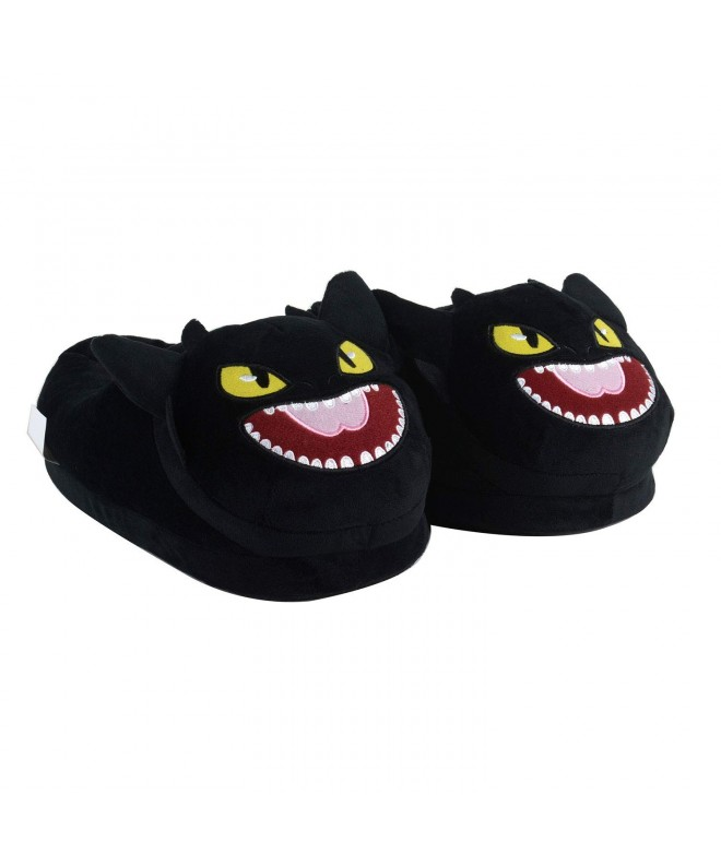 Black Toothless Dragon Slipper Children