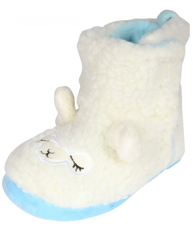 dELiAs Animal Sherpa Slippers Toddler