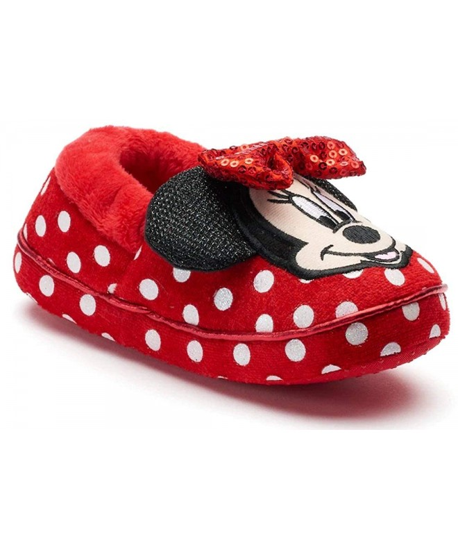 Minnie Disney Girls Mouse Slippers