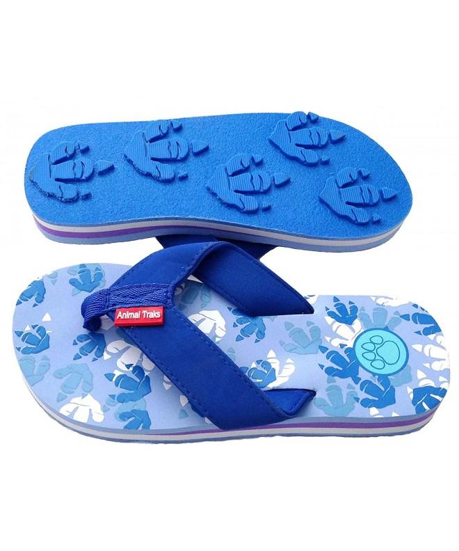 Animal Traks Slippers Dinosaur Sandals