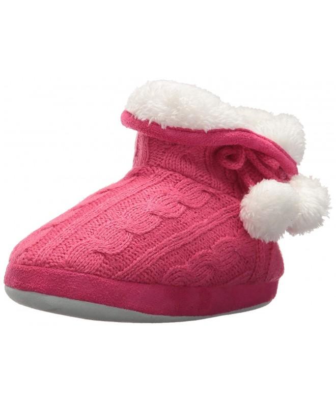 Stride Rite Girls Cozy Slippers
