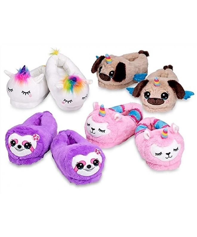 Top Trenz Unicorn Llamacorn Slippers