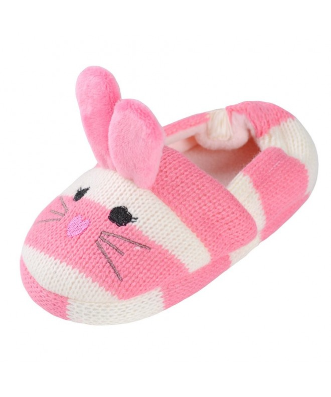 Annnowl Cartoon Knitted Slippers Toddlers
