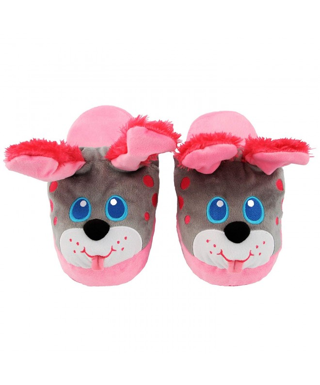 Stompeez Animated Puppy Plush Slippers