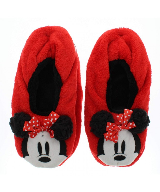 Minnie Mouse Disney Girls Slippers